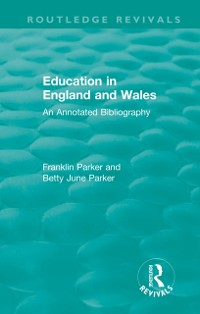 Cover Education in England and Wales