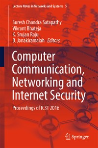 Cover Computer Communication, Networking and Internet Security