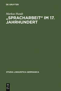 "Cover ""Spracharbeit"" im 17. Jahrhundert"