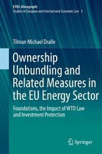 Cover Ownership Unbundling and Related Measures in the EU Energy Sector