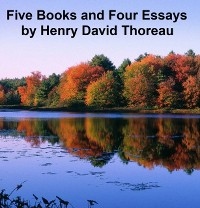 Cover Five Books and  Four Essays