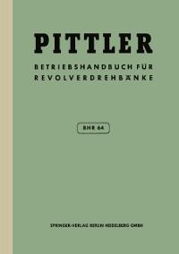 Cover Betriebs-Handbuch BHR 64 fur Pittler-Revolverdrehbanke