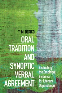 Cover Oral Tradition and Synoptic Verbal Agreement