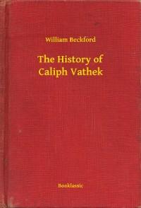 Cover History of Caliph Vathek