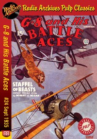 Cover G-8 and His Battle Aces #24 September 19