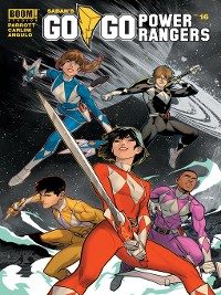 Cover Saban's Go Go Power Rangers, Issue 16