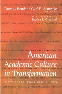 Cover American Academic Culture in Transformation