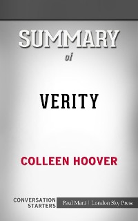 Cover Verity: by Colleen Hoover​​​​​​​ | Conversation Starters