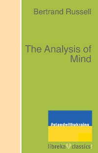 Cover The Analysis of Mind