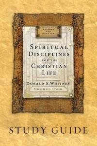 Cover Spiritual Disciplines for the Christian Life Study Guide