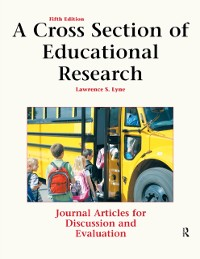 Cover Cross Section of Educational Research