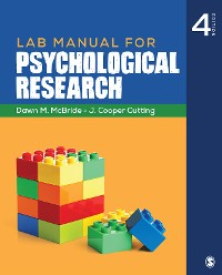 Cover Lab Manual for Psychological Research