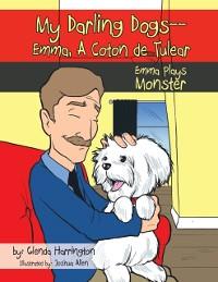 Cover My Darling Dogs--Emma, a Coton De Tulear