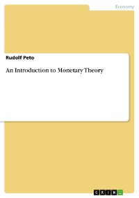 Cover An Introduction to Monetary Theory