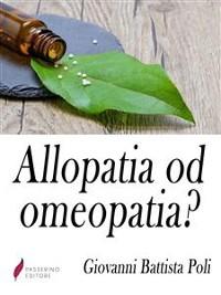 Cover Allopatia od omeopatia?