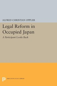 Cover Legal Reform in Occupied Japan