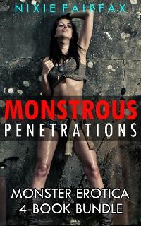 Cover Monstrous Penetrations: Monster Erotica 4-Book Bundle