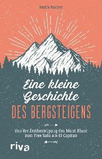 Cover Eine kleine Geschichte des Bergsteigens
