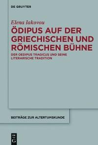 Cover Ödipus auf der griechischen und römischen Bühne