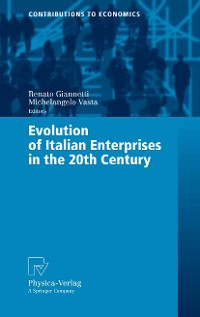 Cover Evolution of Italian Enterprises in the 20th Century