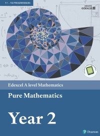 Cover Edexcel A level Mathematics Pure Mathematics Year 2 Textbook + e-book