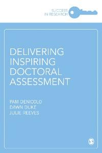 Cover Delivering Inspiring Doctoral Assessment