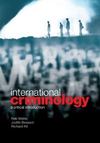Cover International Criminology