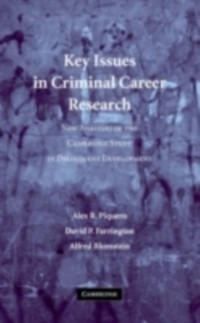 Cover Key Issues in Criminal Career Research