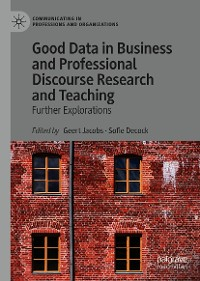 Cover Good Data in Business and Professional Discourse Research and Teaching