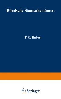 Cover Romische Staatsaltertumer