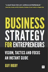 Cover Business Strategy for Entrepreneurs