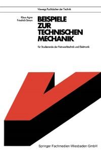 Cover Beispiele zur Technischen Mechanik
