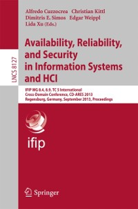 Cover Availability, Reliability, and Security in Information Systems and HCI
