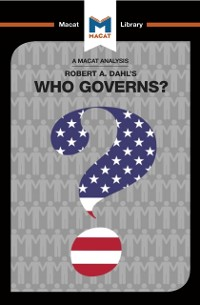 Cover Analysis of Robert A. Dahl's Who Governs? Democracy and Power in an American City