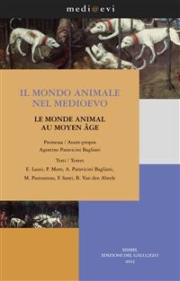 Cover Il mondo animale nel Medioevo / Le monde animal au Moyen Âge