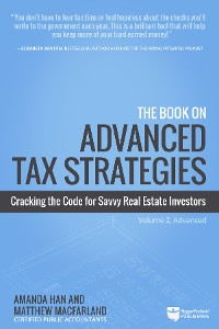 Cover The Book on Advanced Tax Strategies