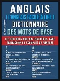 Cover Anglais ( L'Anglais Facile a Lire ) Dictionnaire des mots de base