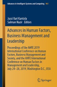 Cover Advances in Human Factors, Business Management and Leadership