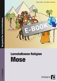 Cover Lernstationen Religion: Mose