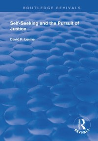 Cover Self-Seeking and the Pursuit of Justice