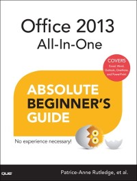 Cover Office 2013 All-In-One Absolute Beginner's Guide