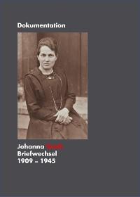 Cover Johanna Tesch Briefwechsel 1909 - 1945