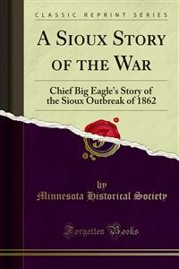 Cover A Sioux Story of the War