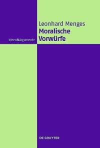 Cover Moralische Vorwürfe