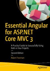 Cover Essential Angular for ASP.NET Core MVC 3