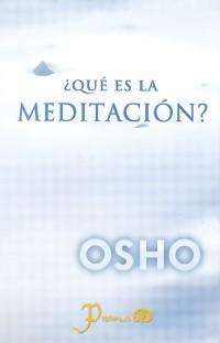 Cover ¿Qué es la meditación?