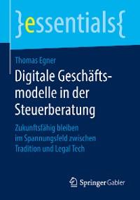 Cover Digitale Geschäftsmodelle in der Steuerberatung