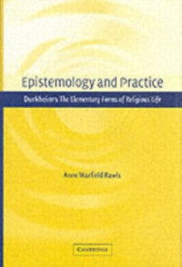 Cover Epistemology and Practice