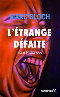 Cover L'étrange défaite