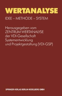Cover Wertanalyse